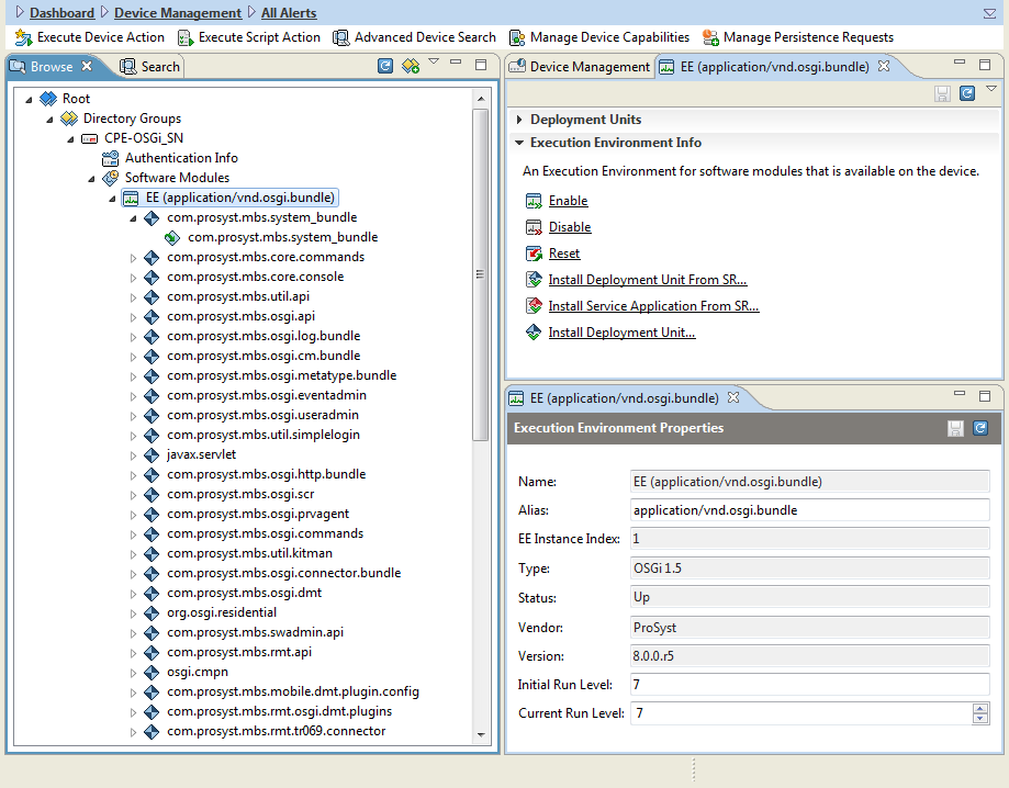 ProSyst Remote Manager 6 1 0: Managing Software Modules